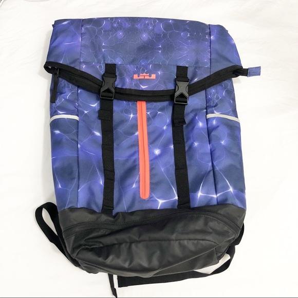 9fdf2b3b1b ... Lebron James RARE Space Backpack. M 5c26c532035cf16f4bff0b4d